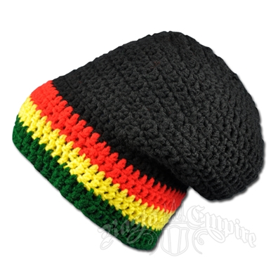 Free Crochet Pattern For Rasta Hat : RASTA SLOUCH BEANIE CROCHET PATTERN ? Free Crochet Patterns