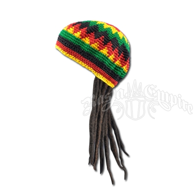 Kids Fake Dreadlocks Wig with Tam / Hat