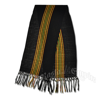 Rasta and Reggae Lightweight Scarf