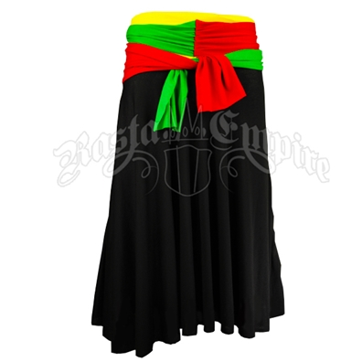 Rasta and Reggae Two in One Dress/Skirt