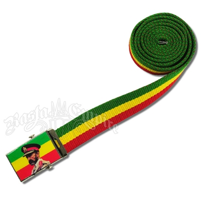 Canvas Belt - Haile Selassie