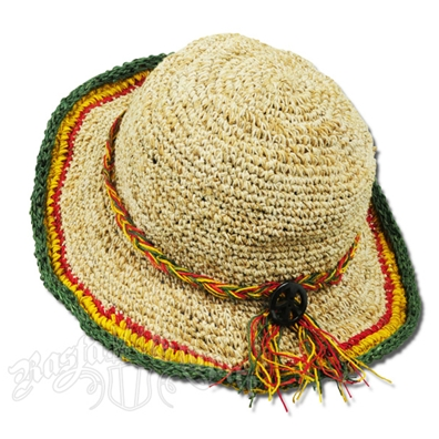 Rasta Hemp Peace Tour Hat