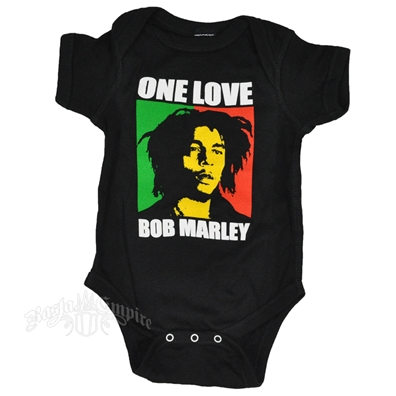 Bob Marley One Love Block Creeper - Black