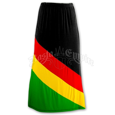 Rasta and Reggae Long Skirt
