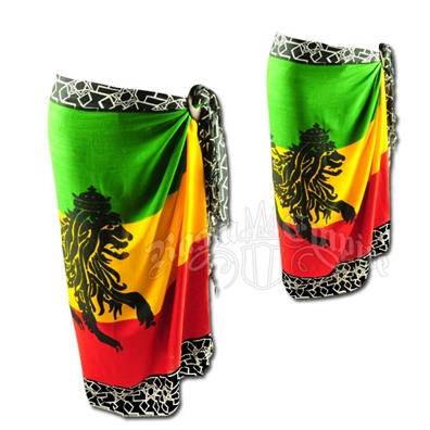Rasta and Reggae Lion of Judah Sarong
