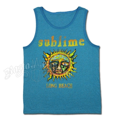 Sublime Sun Pacific Blue Tank Top - Men's