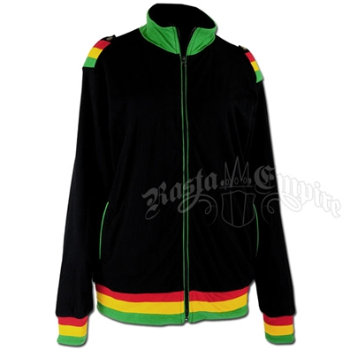 Rasta and Reggae Track Jacket - Men's