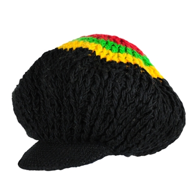 how to make a crochet rasta hat