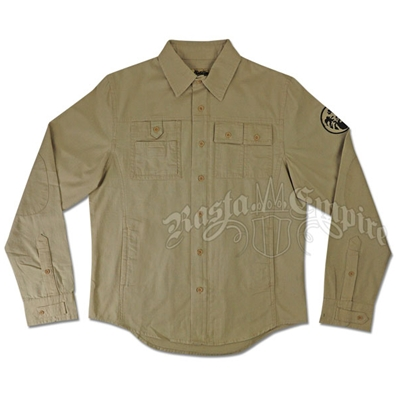 Riddem Driven Khaki Shirt/Jacket - Men's