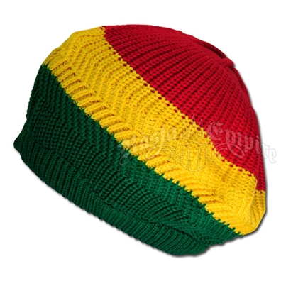 Rasta Wide Stripe Tam