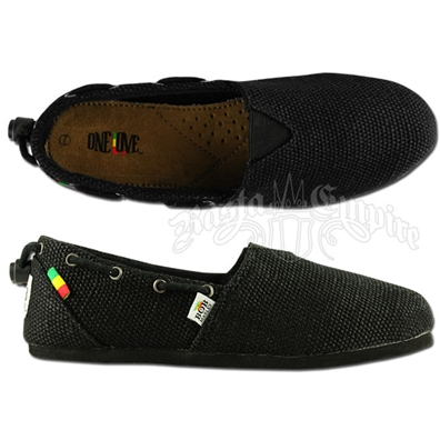 Bob Marley Rita Hemp Black - Women's