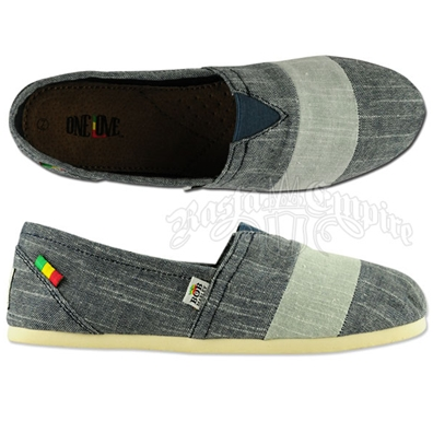 Bob Marley Rita Stripe Chambray Blue - Women's