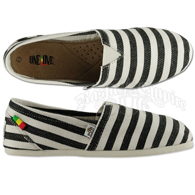 Bob Marley Rita Stripe Black - Women's