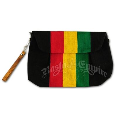 Rasta and Reggae Large Wristlet