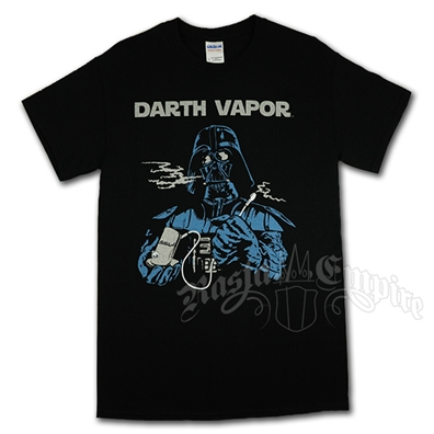 Darth Vapor Black T-Shirt Men's