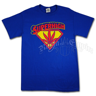 Super High Blue T-Shirt - Men's