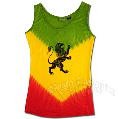 Rasta and Reggae Lion of Judah Tank Top - Women's