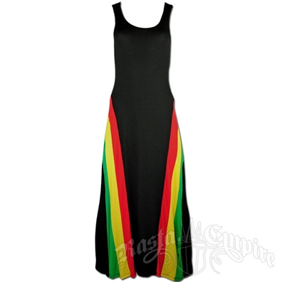 Rasta and Reggae Tank Top Maxi Dress