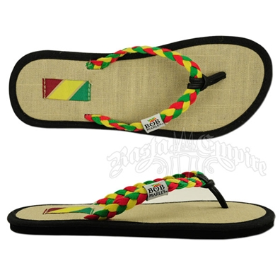 Bob Marley Natty Rasta Natural Sandals - Women's