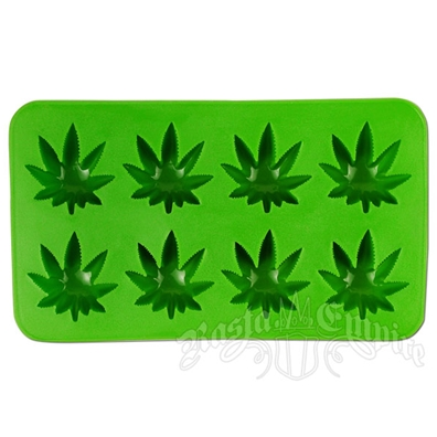 Marijuana Leaf Ice Cube Maker