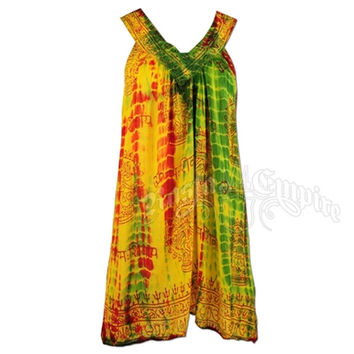 Rasta Summer Ray V-Neck Tank Top