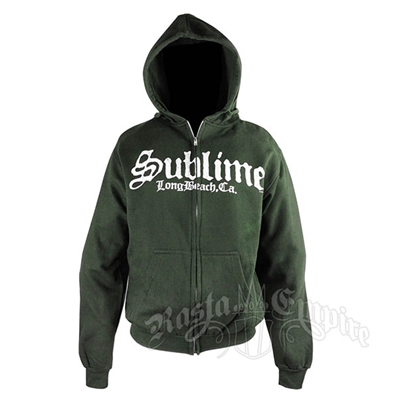 Sublime Stamp Logo Black Hoodie - Men's