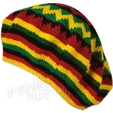 Rasta and Reggae Oversized Dreadie Tam