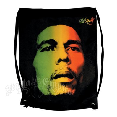 Bob Marley Face Cinch Bag