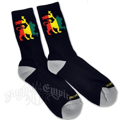 Rasta Lion of Judah Socks