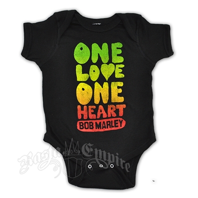Bob Marley One Love One Heart Creeper