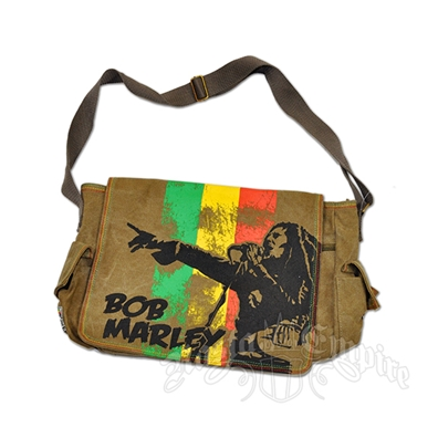 Bob Marley Perform Messenger Bag