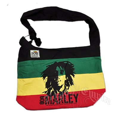 Bob Marley Rasta Striped Shoulder Bag