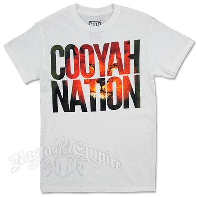 Cooyah Nation White T-Shirt - Men's