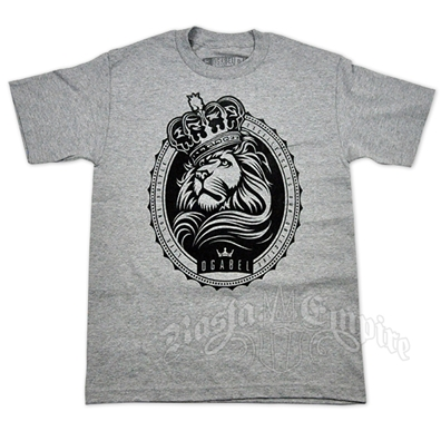 Lion and Crown Excellence Heather Grey T-Shirt - Men's