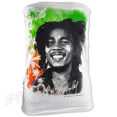 Bob Marley Island White Tube Top