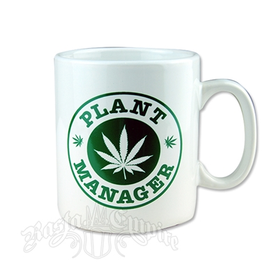Plant Manager 30 oz Ceramic Mug
