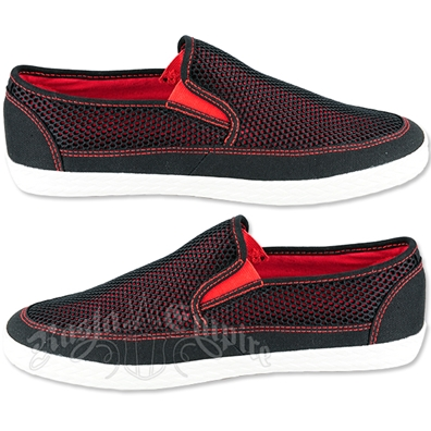 GBX Miami Black Slip On Shoes - Men's