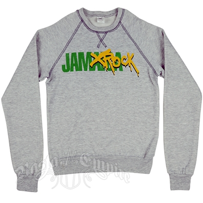 Damian Marley Jamrock Grey Sweater – Women's
