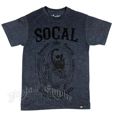 SoCal 'Rolling Hard' Charcoal Heather T-Shirt – Men's