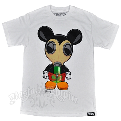 Mickey Bong Mask White T-Shirt – Men's