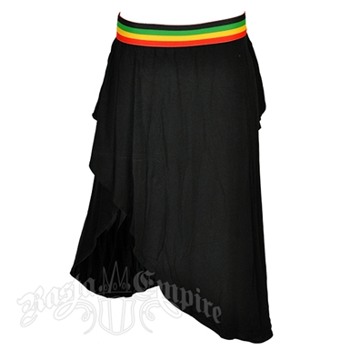 Rasta and Reggae Wrap Skirt