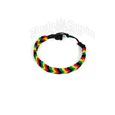 Rasta Colored Macramé Bracelet
