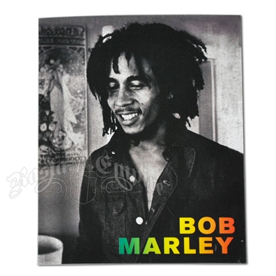 Bob Marley Smile Rasta Sticker
