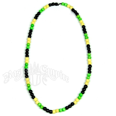 Jamaican Colors Bead Necklace