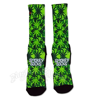 Pot Leaf Smokey Socks