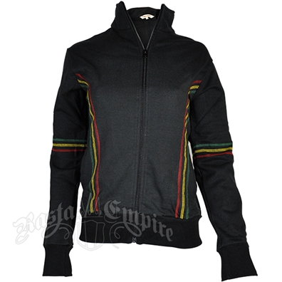 Rasta Black Track Jacket – Women's
