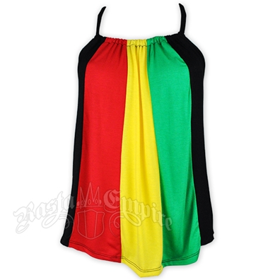 Rasta and Reggae T-Back Tank Top
