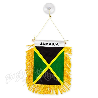 Jamaican Flag Mini Banner