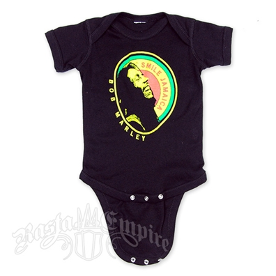 Bob Marley Laughing Jamaica Creeper - Black