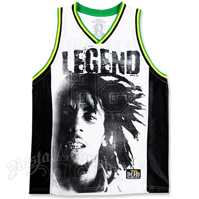 Bob Marley Legend Basketball Jersey